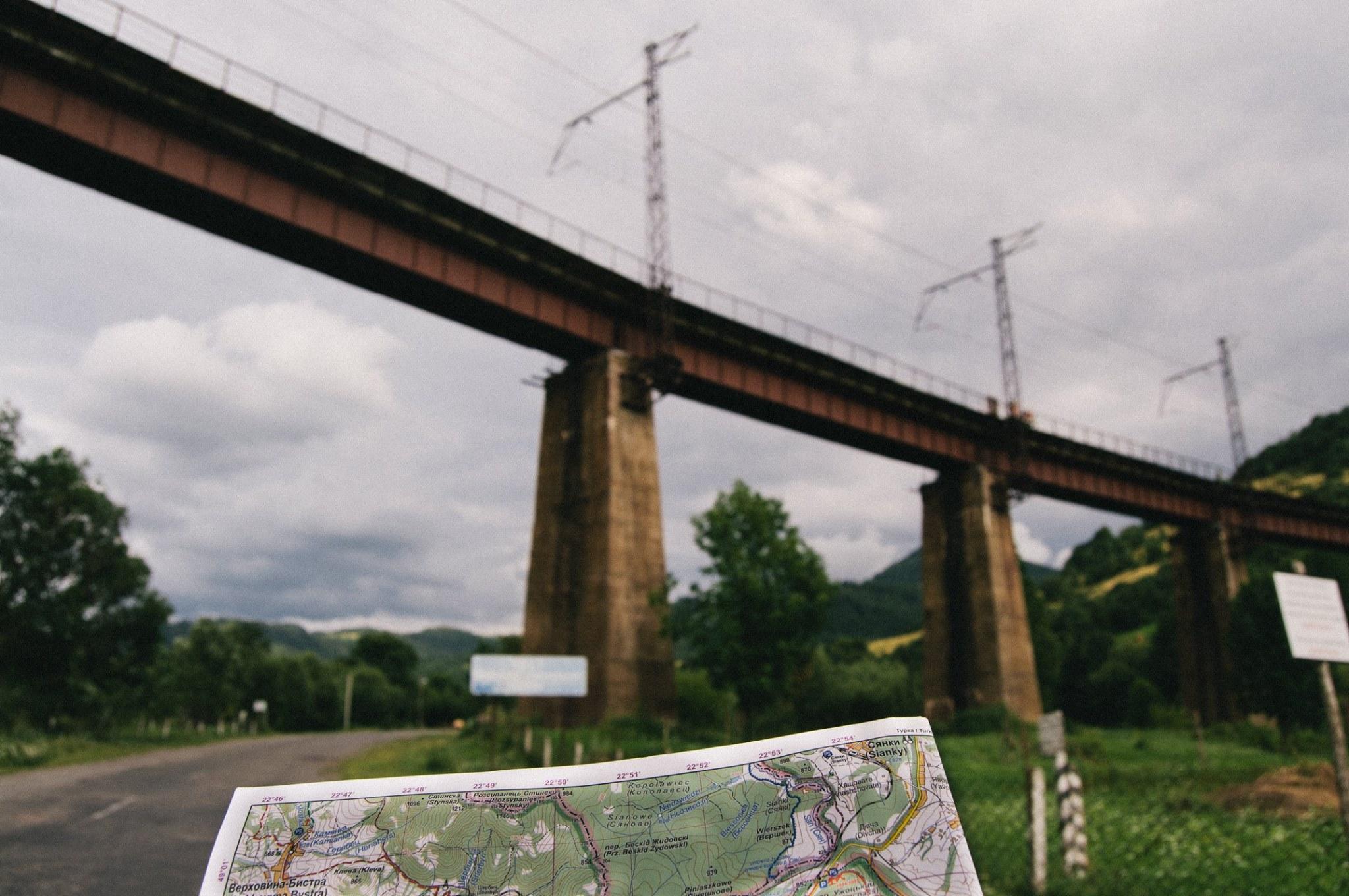 Most ve Volosyance Autor: Luboš Nehyba